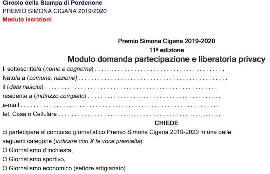 Premio Simona Cigana